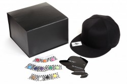 Gift Box blackcaps flat peak baseball cap