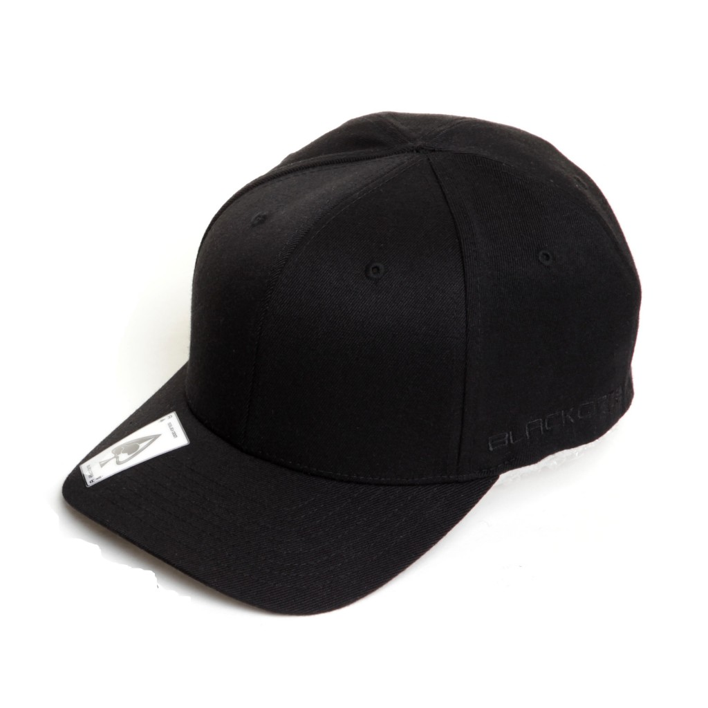 fe06fc632 THE BREAKDANCER – No Top Button – Curved Peak Flexfit Fitted Baseball Cap  ...